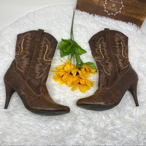 🔥🌻 Women's faux cowgirl western boots